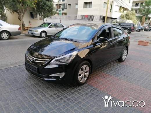 Hyundai in Beirut City - GRATUIT هيونداي سولارس موديل 2016 لون اسود بيروت, بيروت