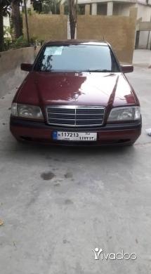Mercedes-Benz in Tripoli - 4 300 $ مرسيدس 180 سي موديل 96 دير عمار, الشمال