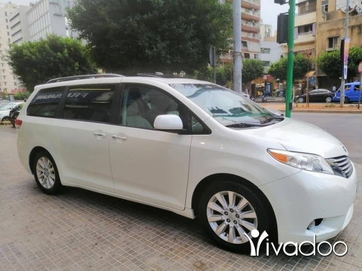 Toyota in Beirut City - 1 $ ⭕TOYOTA SIENNA 2012 LIMITED LUXURY⭕ ‎بيروت, بيروت