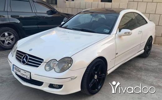 Mercedes-Benz in Zahleh - 5 000 $ Clk 500 v8 زحلة معلقة اراضي, البقاع