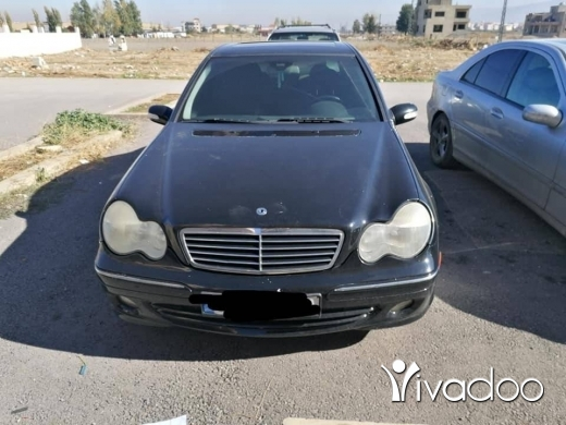 Mercedes-Benz in Zahleh - 6 600 $ Mercedes C 320 sport mod 2004 ‎زحلة مار الياس, البقاع