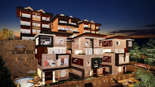 Apartments in Blat - Duplex Apartment For Rent In Blat _Jbeil In A Gated Community : L04009