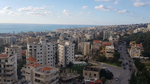 Apartments in Jbeil - Apartment For Rent in Jbeil Mar Geryes With Panoramic Sea View
