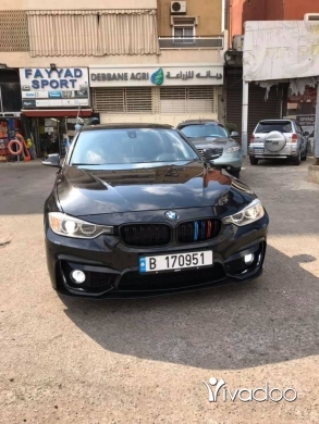 BMW in Choueifat - 19 000 $ Bmw 335 twin turbo coler black black ‎قبة الشويفات, جبل لبنان