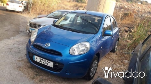 Nissan in Dbayeh - 6 500 $ Nissan Micra 2012 in excellent condition ‎دبية, جبل لبنان
