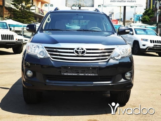 Toyota in Beirut City - 21 250 $ 2013 Toyota Fortuner 2.7L 4x4 / Excellent condition / original paint / 127000km