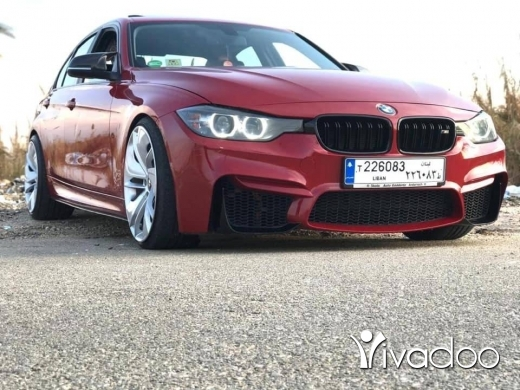 BMW in Beirut City - 30 model 2012 Look M4 ajnabiye  for sale
