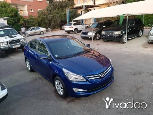 Hyundai in Beirut City - Solaris 2016