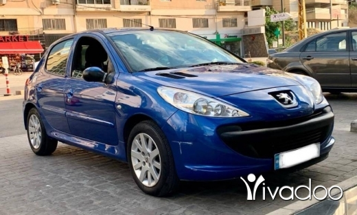 Peugeot in Beirut City - A super clean Peugot 206+