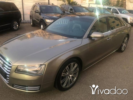 Audi in Beirut City - Audi A 8 2012 L V6