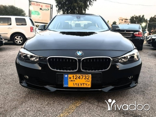 BMW in Beirut City - 2013 bmw F30 328i black