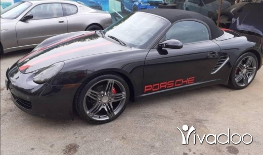 Porsche in Port of Beirut - Boxter s 2006