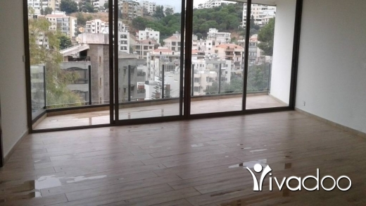Apartments in Awkar - L05704 New apartment for Sale in Aoukar with garden