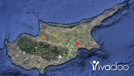 Land in Zalka - BUY IN CYPRUS PAY IN LEBANON - A 574 m2 land for sale in Larnaca