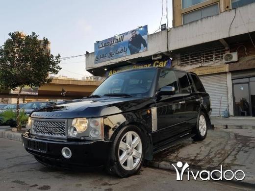 Rover in Tripoli - Rang rover vog
