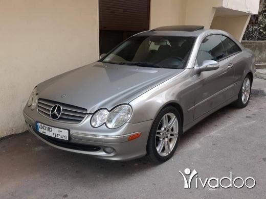 Mercedes-Benz in Tripoli - Clk 320 2004