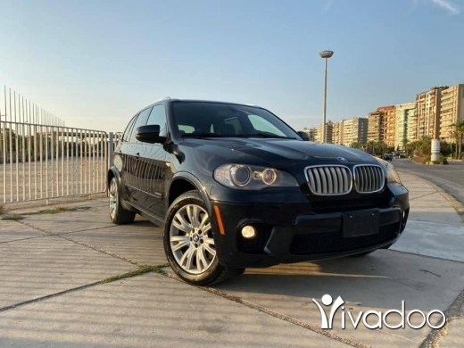 BMW in Tripoli - BMW X5 2011 v8 5.0 twiin turbo