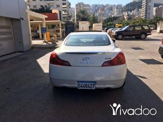 Infiniti in Port of Beirut - Car