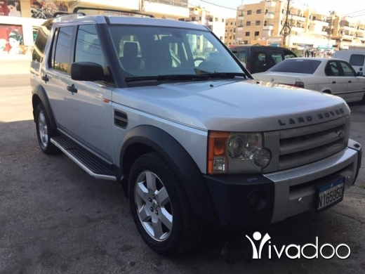 Land Rover in Port of Beirut - Ranj rover lr3 V8 model 2008