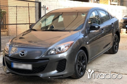 Mazda in Port of Beirut - Mazda 3 modell 2013