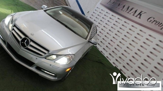 Mercedes-Benz in Tripoli - Mercedes E350 Silver Coupe
