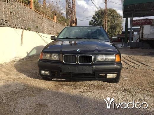 BMW in Sour - سياره 325 فول فيتاس انقاض بعدا على كيانا $ 1500