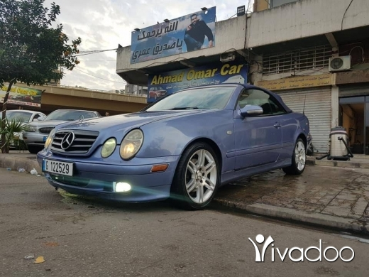 Mercedes-Benz in Port of Beirut - Mercedes clk 320