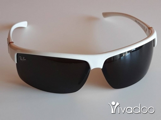 Clothes, Footwear & Accessories in Kahaleh - Ray-Ban Classic White Women's Sunglasses - Made in Italy