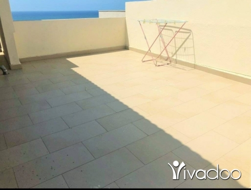 Apartments in Jnah - MG952/ Furnished apartment for rent 120sqm 6th floor located in Jnah (Coral Beach Area).