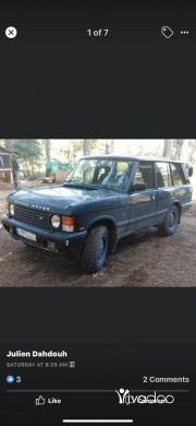 Rover in Beirut City - For sale range rover 1992