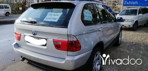 BMW dans Beyrouth - X5 خارقة