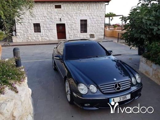 Mercedes-Benz in Jbeil - CL Class 2003 look 2006 AMG 18,000.000 LBP