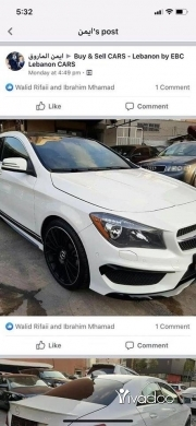 Mercedes-Benz in Tripoli - cla