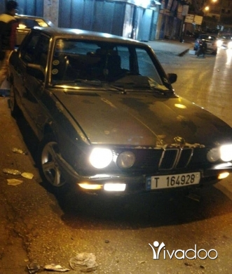 BMW in Port of Beirut - BMW525