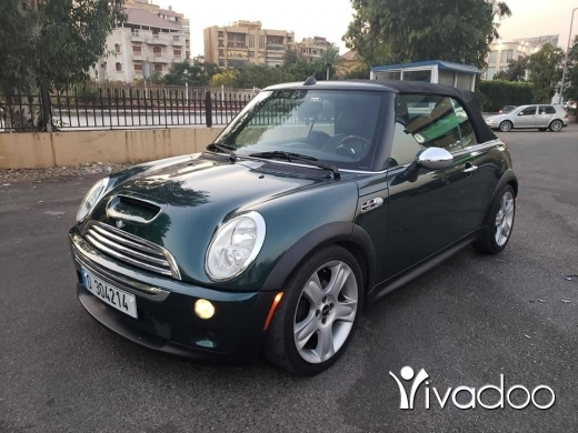 Mini in Beirut City - Mini cooper S cabriolet