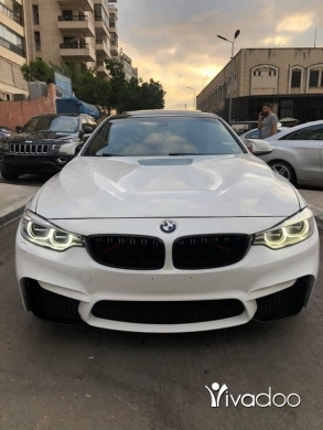 BMW in Beirut City - Bmw 428i 2014 white look m4