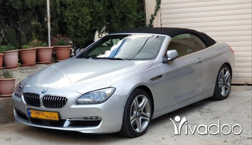 BMW in Beirut City - Bmw 650 v8 twin turbo ajnabiyi cabriolet supper clean