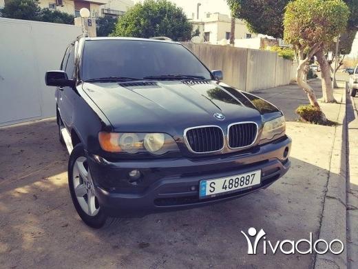 BMW dans Beyrouth - X5 موديل 2001