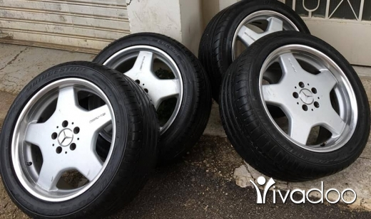 Car Parts & Accessories in Beirut City - Mercedes Benz Amg rims 18