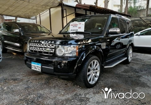 Rover in Port of Beirut - Land rover LR3 2005 HSE black /black Look 2012 V8