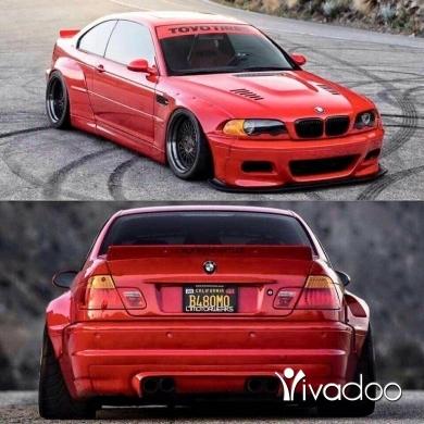 BMW in Metn - Pandem e46 body kit