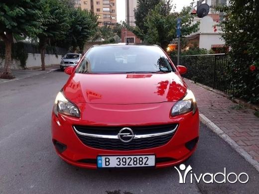 Opel in Beirut City - اوبل كورسا موديل 2015