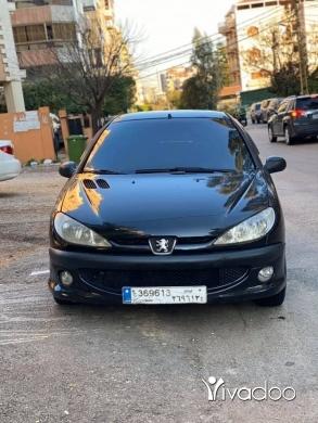 Peugeot in Beirut City - Peugeot 206 (2008) manual (سعر الدولار ١٥٠٠)