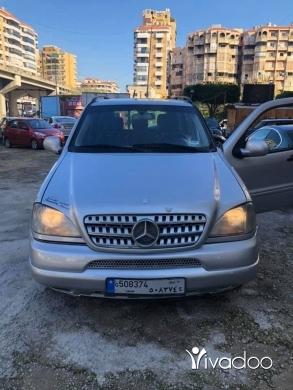 Mercedes-Benz in Beirut City - ml 320 model 2000