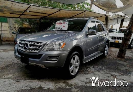 Mercedes-Benz in Beirut City - ML350 Grey 2011 4matic navigation