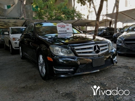 Mercedes-Benz in Beirut City - C250 black /black 2012