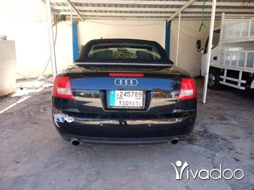 Audi in Port of Beirut - اودي اي 4 مديل 2003