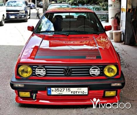 Volkswagen in Tripoli - Golf 2 vr6