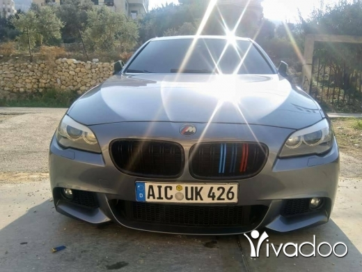 BMW in Tripoli - For salle f10 2012