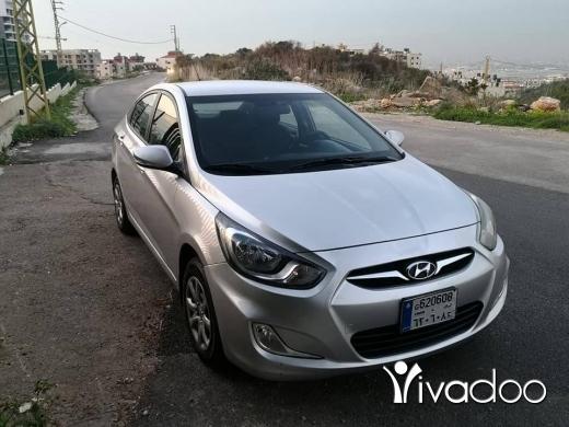 Hyundai in Port of Beirut - car